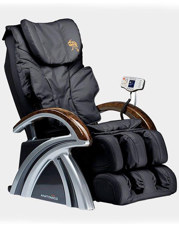 Купить Массажер, аппарат Yamaguchi, Массажное кресло Amerigo Anatomico, ИТАЛИЯ, Черный