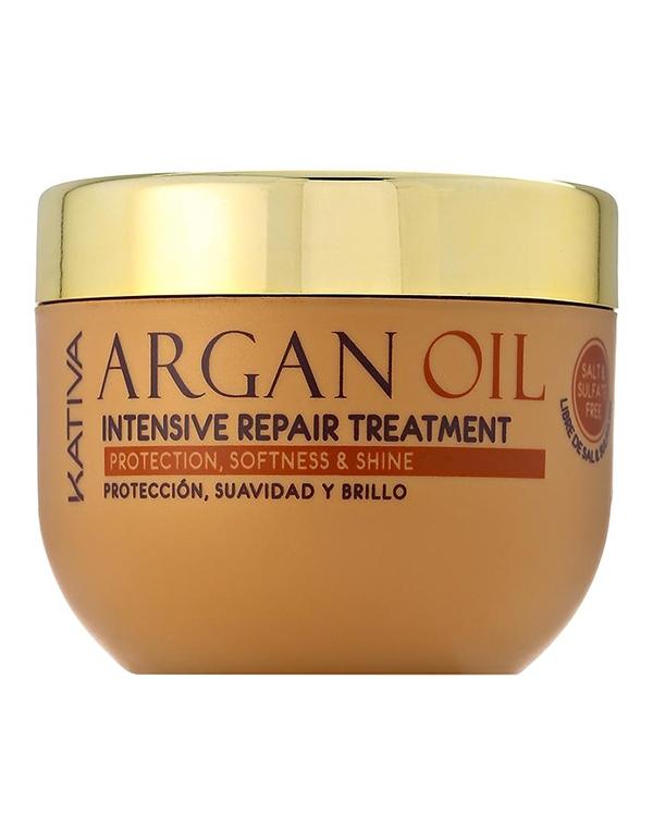 Купить Несмываемый уход, защита Kativa, Увлажняющая маска для волос с маслом Арганы ARGAN OIL, Kativa, 500мл