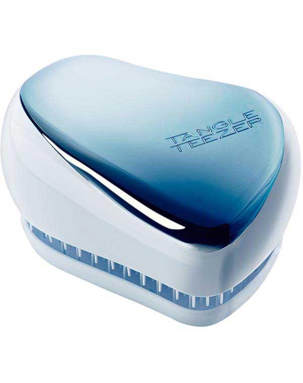 Купить Щетка, расческа Tangle Teezer, Расческа Tangle Teezer Compact Styler Sky Blue Delight Chrome, СОЕДИНЕННОЕ КОРОЛЕВСТВО