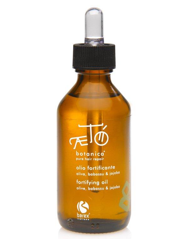Масло для волос BarexМасла от секущихся кончиков<br>Смесь ботанических масел предназначена для мгновенного насыщения волос питательными и укрепляющими веществами. Средство отлично подходит для глубокого восстановления сильно поврежденных локонов.<br><br>Бренды: Barex<br>Вид товара: Масло для волос<br>Область ухода: Волосы<br>Назначение: Восстановление волос, Для секущихся кончиков<br>Тип кожи, волос: Осветленные, мелированные, Окрашенные, Вьющиеся, Сухие, поврежденные, Жирные, Нормальные, Тонкие<br>Косметическая линия: Aeto Botanica Линия ухода за волосами с растительными экстрактами