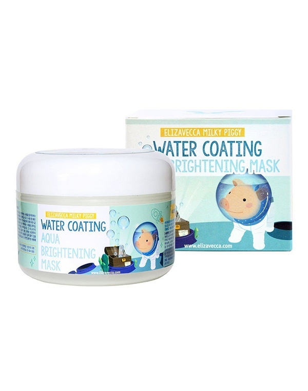 Маска Elizavecca Увлажняющая маска Milky Piggy Water Coating Aqua Brightening Mask Elizavecca, 100 мл water walk ball inflatable aqua bubbles water bubble balloons