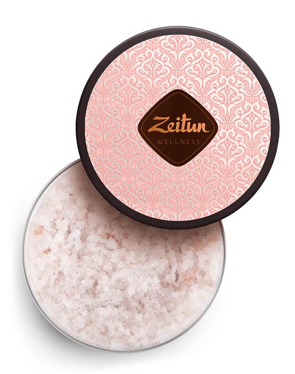 Фото - Соль для ванн ароматическая Ритуал нежности с дамасской розой и маслом персика Zeitun добропаровъ соль для ванн с маслом ели 3005701 300 г
