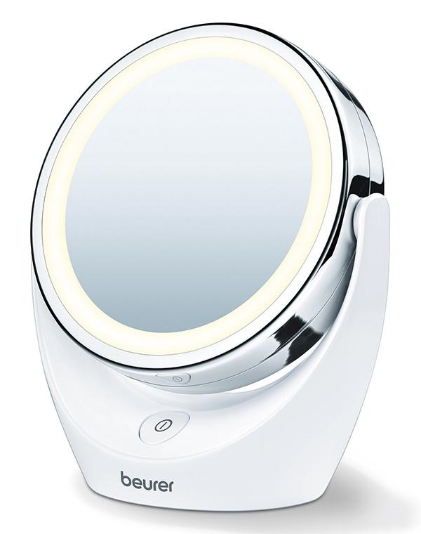 лучшая цена Зеркало двустороннее с подсветкой BS 49, Beurer, 11 см