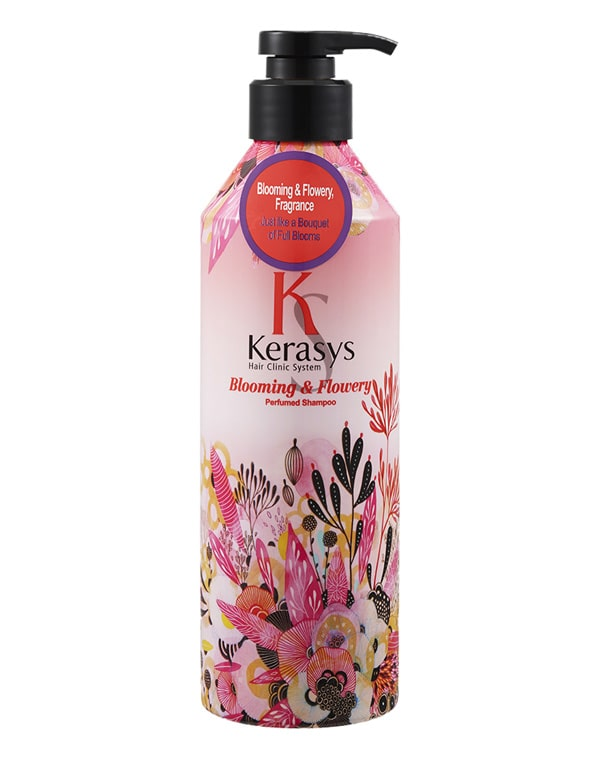 Шампунь для волос Fleur KeraSys, 600 мл nail tek средство для сухих и ломких ногтей citra iii 14 мл