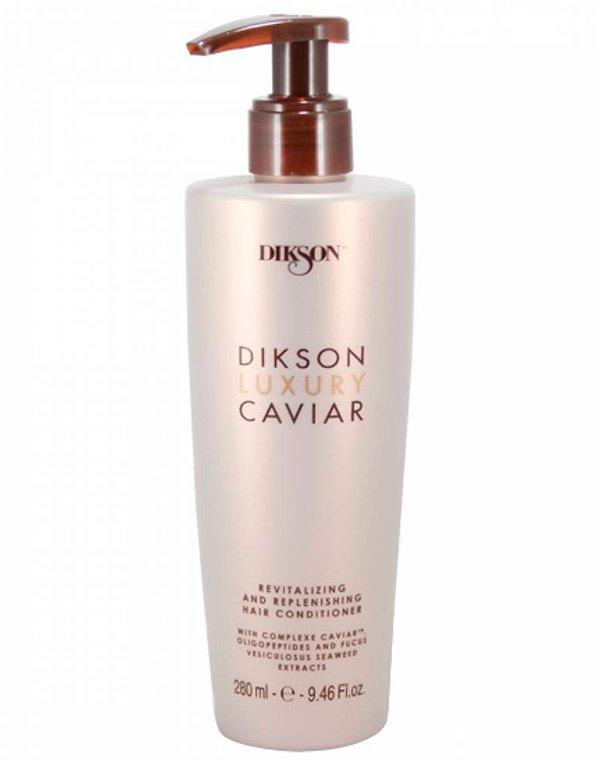 Концентрированный кондиционер с экстрактом черной икры Conditioner Luxury Caviar, DiksonБальзамы для сухих волос<br>Крем-бальзам имеет совершенную формулу. Препарат насыщает волосяные стержни ценными минеральными веществами. Он продлевает омолаживающий эффект и воздействует по всей длине локонов, восстанавливая даже самые поврежденные участки.<br><br>Бренды: Dikson<br>Вид товара: Кондиционер, бальзам<br>Область ухода: Волосы<br>Назначение: Увлажнение и питание, Восстановление и защита<br>Тип кожи, волос: Осветленные, мелированные, Окрашенные, Вьющиеся, Сухие, поврежденные, Нормальные, Тонкие<br>Косметическая линия: Линия Luxury Caviar на основе экстракта черной икры
