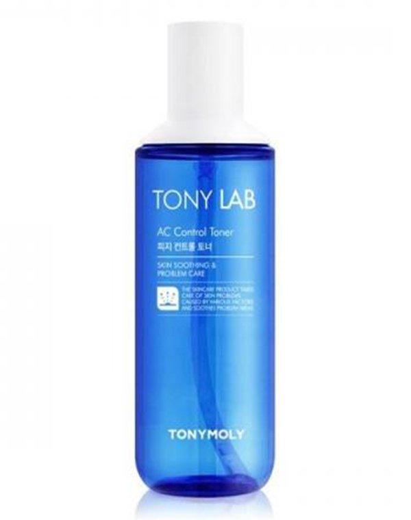 Тонер для лица Tony Lab AC Control Toner3, Tony MolyКосметика для лица<br>Тонер деликатно очищает кожу от омертвевших частиц. Он устраняет чрезмерную жирность дермы, препятствует закупорке пор и чрезмерному утолщению кожных покровов.<br><br>Бренды: Tony Moly<br>Вид товара: Тоник, лосьон<br>Область ухода: Лицо<br>Назначение: Увлажнение и питание, Ежедневный уход, Успокаивающее, Противовоспалительное<br>Тип кожи, волос: Жирная и комбинированная<br>Возрастная группа: Более 40, До 30, До 40