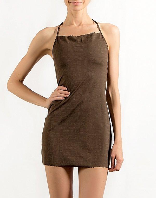 Patrizia Pepe платье пляжное коричнеое BEACHWEAR