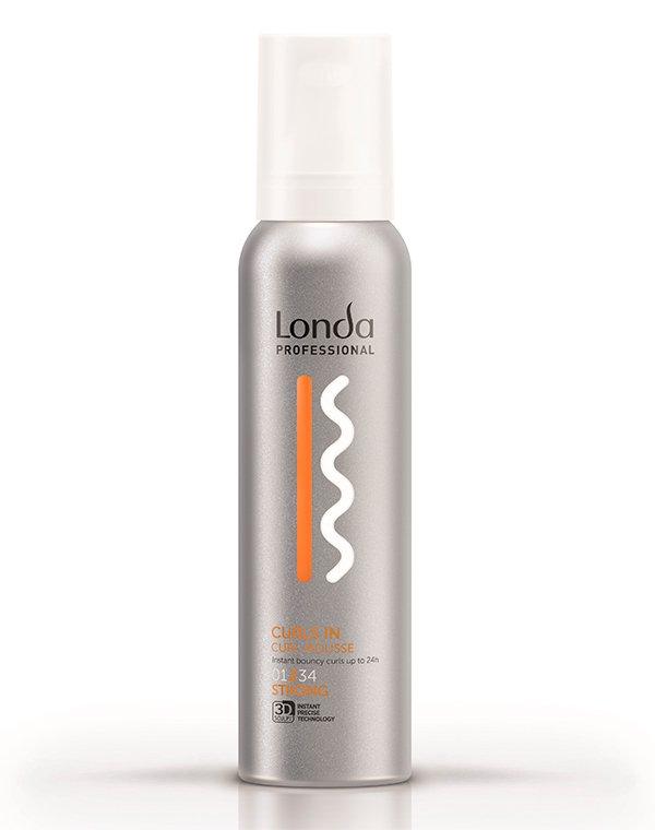 Мусс для кудрявых волос сильной фиксации Texture curls in LondaМусс для волос<br>Продукт сохранит структуру и форму кудрявых локонов на срок до 24 часов.<br><br>Бренды: Londa Professional<br>Вид товара: Спрей, мусс<br>Область ухода: Волосы<br>Назначение: Стайлинг<br>Тип кожи, волос: Вьющиеся<br>Косметическая линия: Линия Styling Londa для укладки волос
