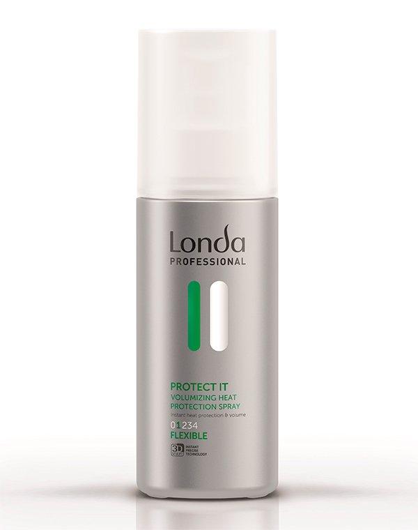 Лосьон теплозащитный для придания объема нормальной фиксации Volume protect it LondaЛосьон для укладки волос<br>Лосьон обеспечивает надежную защиту прядям во время сушки термоинструментами.<br><br>Бренды: Londa Professional<br>Вид товара: Спрей, мусс<br>Область ухода: Волосы<br>Назначение: Стайлинг, Термозащита, Для объема<br>Тип кожи, волос: Осветленные, мелированные, Окрашенные, Сухие, поврежденные, Нормальные, Тонкие<br>Косметическая линия: Линия Styling Londa для укладки волос