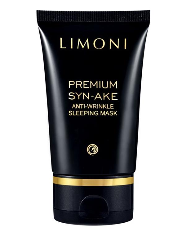 Антивозрастная ночная маска для лица со змеиным ядом Anti-Wrinkle Sleeping Mask Limoni, 50 мл крем для глаз от морщин со змеиным ядом 30 мл kueshi