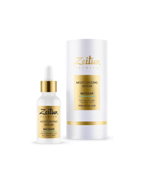 Купить Сыворотка Zeitun, Сыворотка для лица ультра-увлажняющая MASDAR с гиалуроновой кислотой Zeitun, РОССИЯ