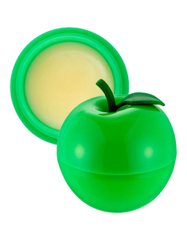Бальзам Tony Moly Бальзам для губ Mini Green Apple Lip Balm2 Tony Moly 7,2 гр бальзам для губ персик spf15 mini peach lip balm 7 г tony moly