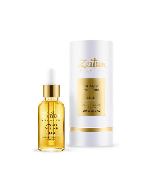 Эликсир масляный витаминный LULU для сияния кожи лица Zeitun недорого