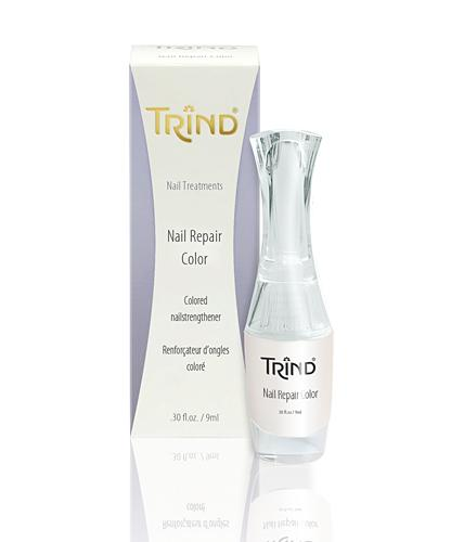 Укрепитель ногтей белый перламутр Trind, 9 ml - Лаки и средства для ногтей
