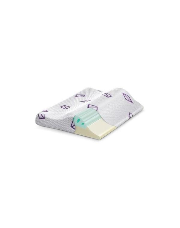 Фото - Подушка для сна с эффектом памяти Detensor подушка под поясницу с эффектом памяти iv35060 33 33
