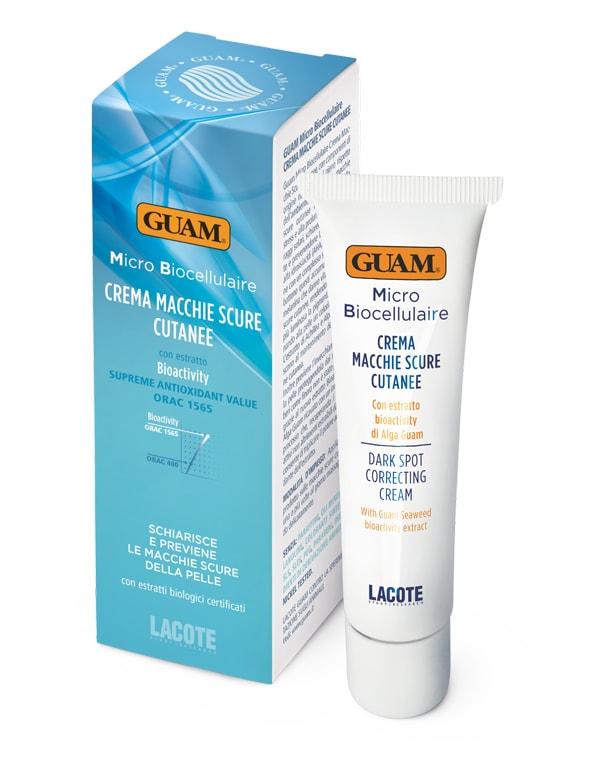 Крем против пигментных пятен, GUAM, 30 мл эффективный отбеливающий крем от пигментных пятен