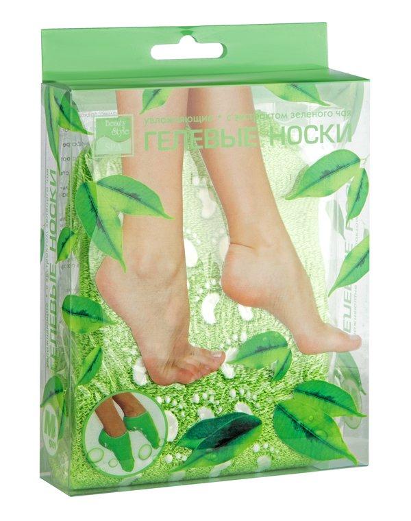 Перчатки и носочки Beauty Style Носочки увлажняющие Beauty Style с экстрактом зеленого чая
