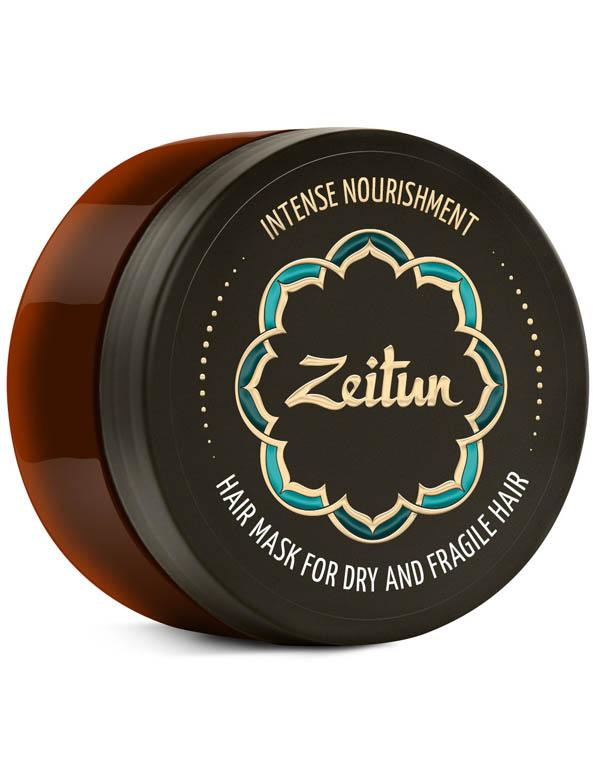 Купить Маска Zeitun, Маска Интенсивное питание для сухих и ломких волос с маслом ши и клещевины египетской Zeitun, РОССИЯ