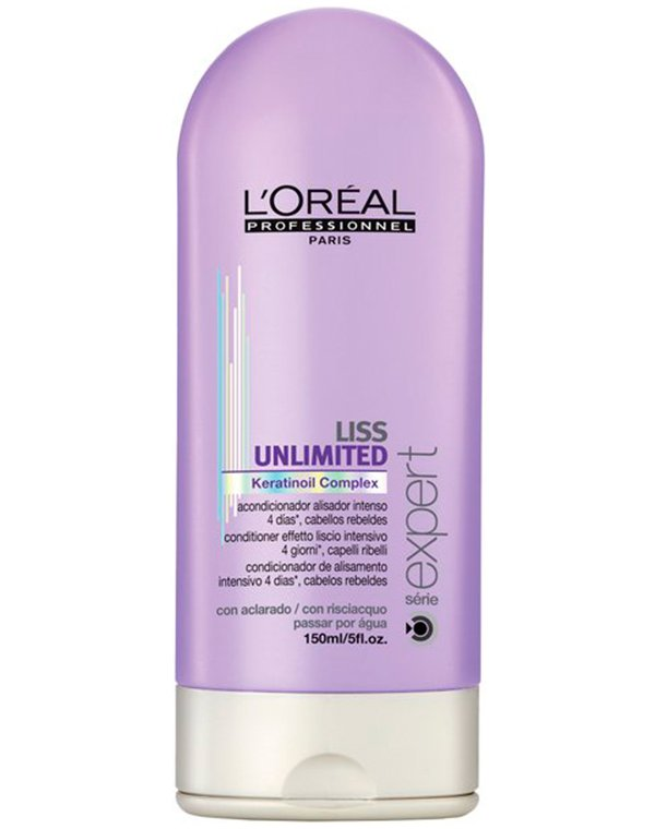Смываемый разглаживающий уход для непослушных волос Liss Unlimited, Loreal цена
