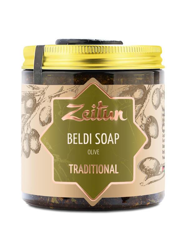 Купить Мыло традиционное марокканское Бельди Олива для всех типов кожи Zeitun, РОССИЯ