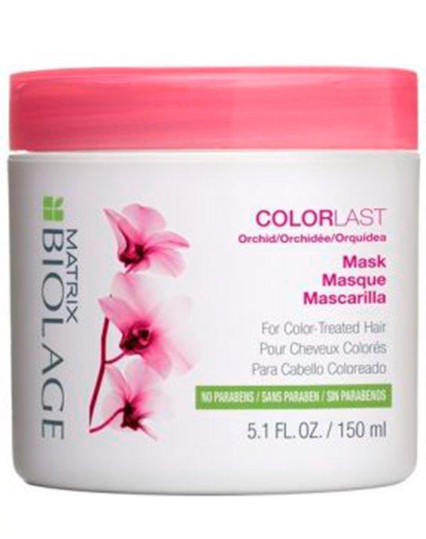 Маска для волос MatrixМаски для окрашеных волос<br>Маска Колораст интенсивно питает волосы, восстанавливает их структуру. Защищает от негативного воздействия внешних факторов.<br><br>Бренды: Matrix<br>Вид товара: Маска для волос<br>Область ухода: Волосы<br>Назначение: Увлажнение и питание, Защита цвета, Защита от солнца<br>Тип кожи, волос: Осветленные, мелированные, Окрашенные, Сухие, поврежденные<br>Косметическая линия: Линия Biolage Colorlast для окрашенных волос