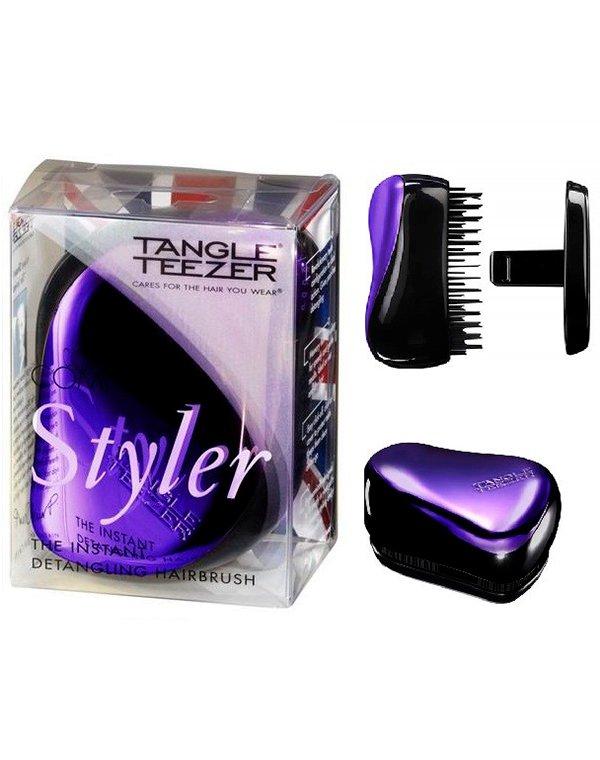 Щетка, расческа Tangle Teezer Расческа Tangle Teezer Compact Styler Purple Dazzle