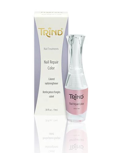 Лак для ногтей Trind Укрепитель ногтей лиловый Trind, 9 ml trind восстанавливающий крем для потрескавшейся кожи пяток и стоп trind salon lines repairing heel cream 50202001 200 г