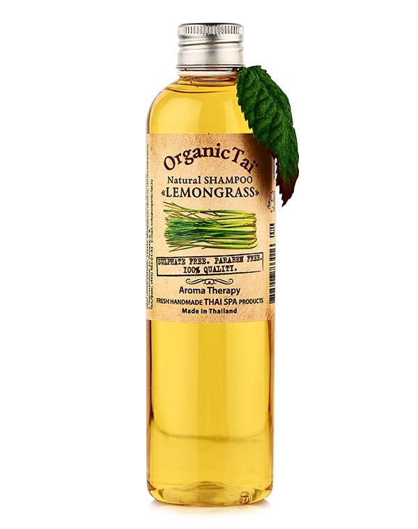 Шампунь Organic Tai Шампунь для волос натуральный «Лемонграсс» Organic Tai, 260 мл толстовка классическая picture organic basement ml zip blue