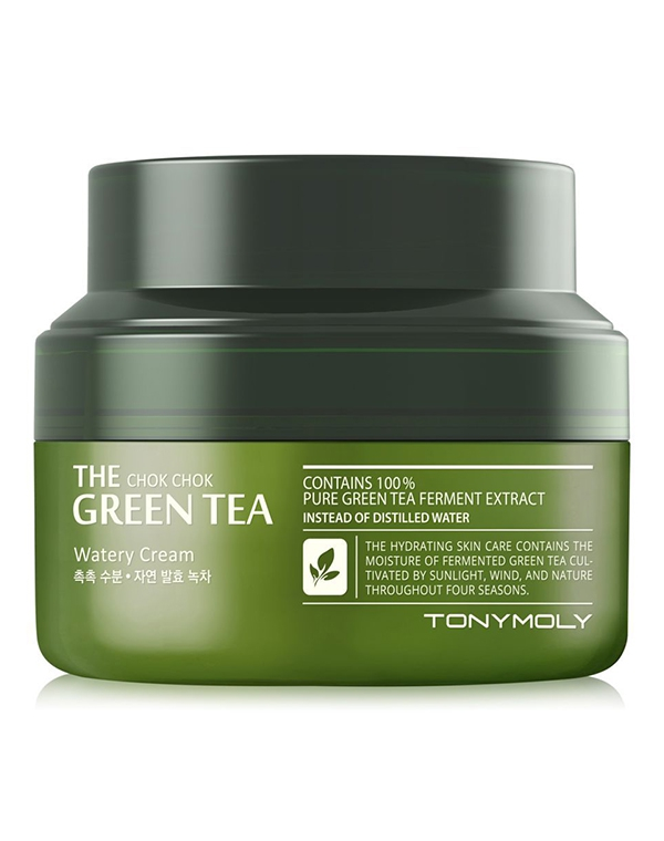 Крем Tony Moly Крем для лица The Chok Chok Green Tea Watery Cream2 Tony Moly 60 мл тоник tony moly the chok chok green tea watery skin toner 180 мл