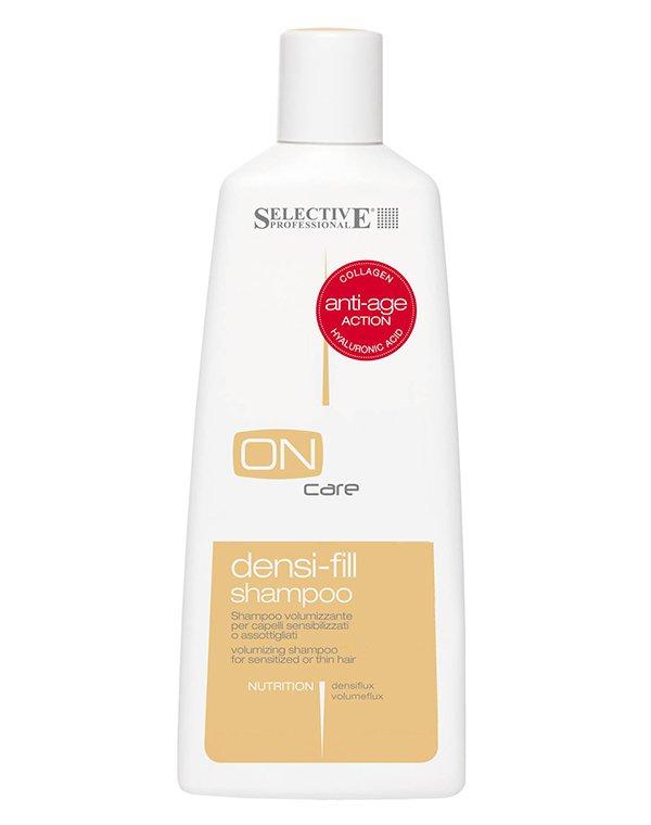 Шампунь филлер для ухода за поврежденными или тонкими волосами Densi-fill, Selective, 250 мл