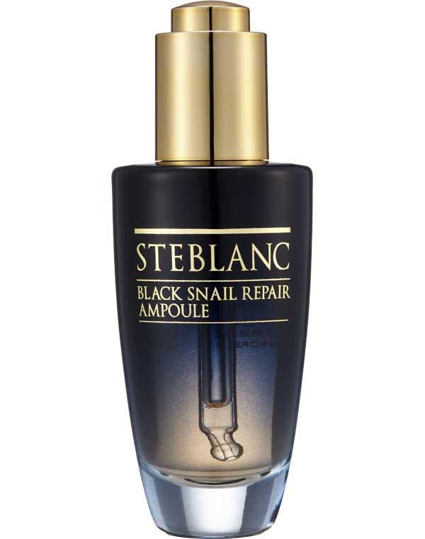 Купить Сыворотка Steblanc, Сыворотка для лица с муцином Черной улитки Black Snail Repair Ampoule Steblanc, КОРЕЯ, РЕСПУБЛИКА