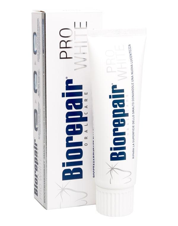 Зубная паста Про Вайт Pro White, Biorepair, 75 мл oral b зубная паста pro expert stages star wars ягодный взрыв berry bubble 75 мл