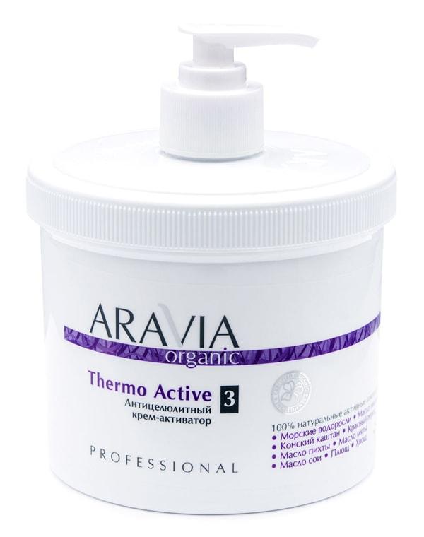 Купить Крем, бальзам Aravia, Антицеллюлитный крем-активатор Thermo Active, ARAVIA Organic, 550 мл, РОССИЯ