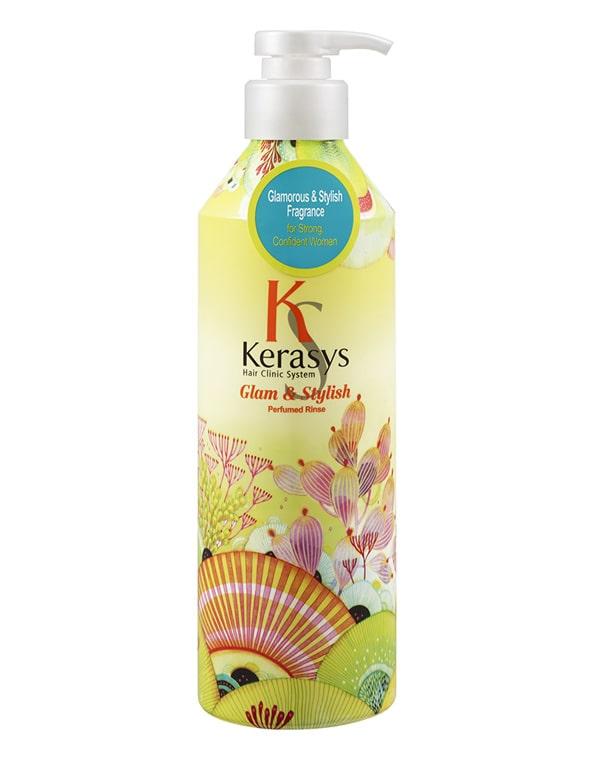Кондиционер для волос Glamor KeraSys, 600 мл кондиционер kerasys для волос увлажняющий 600 мл