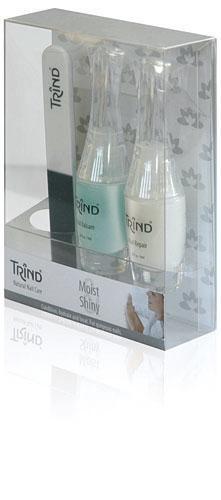 Косметические наборы для ногтей Trind Набор Trind Moist and Shiny Set