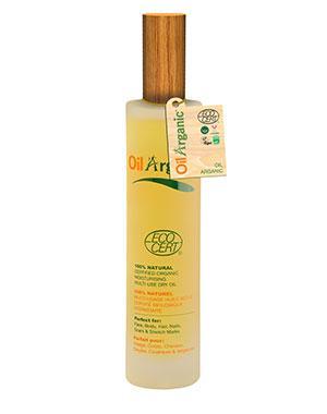 Увлажняющее легкое масло, OilArganic - Косметика для автозагара и солярия