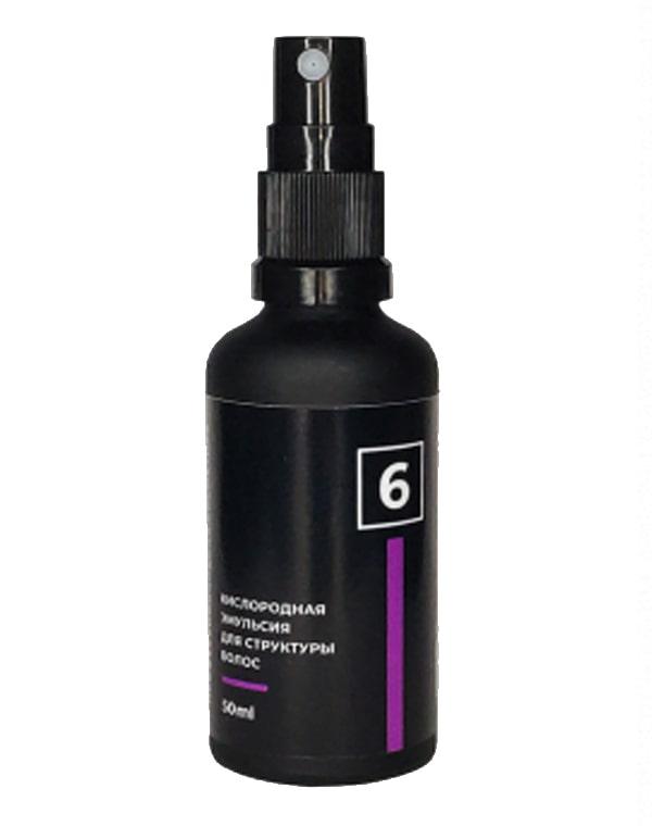 Кислородная эмульсия 6 для структуры волос, Perfleor, 50 мл фото