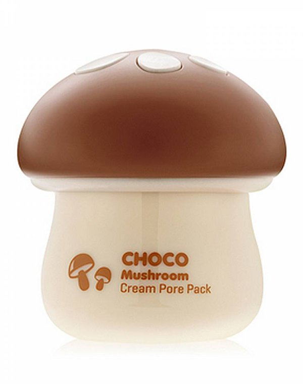 Маска для лица Magic Food Choco MushRoom Cream Pore Pack, Tony Moly laneige mini pore маска глиняная увлажняющая для сужения пор mini pore маска глиняная увлажняющая для сужения пор