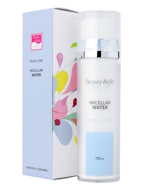 Мицелярная вода Cleansing universal для всех типов кожи, Beauty Style, 120 мл