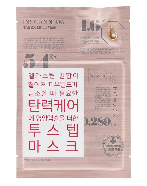 Маска для лица подтягивающая Liftup TabRX, Dr. Gloderm, 25 мл эффективное увлажнение кожи лица в домашних условиях