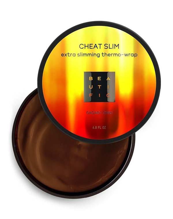 Обертывание термоактивное для экспресс похудения с перцем чили и какао Cheat slim Beautific