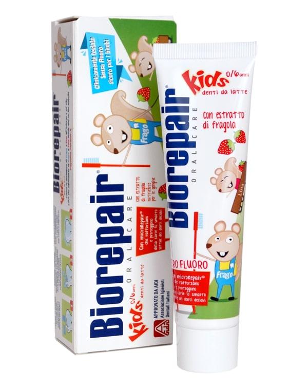 Зубная паста детская Kids, Biorepair, 75 мл weleda детская зубная паста гель 50 мл