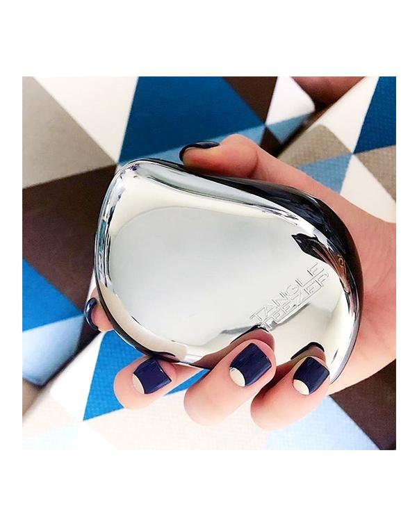 Щетка, расческа Tangle Teezer Расческа Tangle Teezer Compact Styler Silver