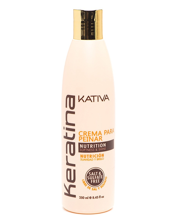 все цены на Укрепляющий шампунь с кератином для всех типов волоc KERATINA, Kativa, 250 мл онлайн