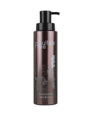 Кондиционер для волос увлажняющий с маслом арганы NUSPA, Argan Oil from Morocco, 400 млЛегкий и эффективный кондиционер без сульфатов идеально подходит для ухода за волосами любого типа, нормализует структуру волос, предотвращает появление секущихся кончиков, глубоко питает и увлажняет волосы и кожу головы!<br><br>Бренды: Morocco Argan Oil<br>Вид товара: Кондиционер, бальзам<br>Область ухода: Волосы<br>Назначение: Увлажнение и питание, Ежедневный уход, Восстановление волос, Восстановление и защита<br>Тип кожи, волос: Осветленные, мелированные, Окрашенные, Вьющиеся, Сухие, поврежденные, Жирные, Нормальные, Тонкие