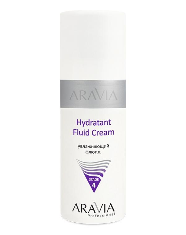 Увлажняющий флюид Hydratant Fluid Cream, ARAVIA Professional, 150 мл солнцезащитный увлажняющий флюид для лица sun shade spf 30 aravia professional 100 мл