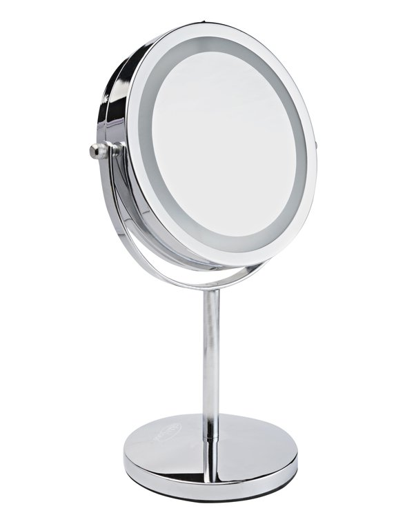 Аксессуары и расходники GEZATONE LM194 Зеркало косметологич. 2-х стороннее со светодиодной подсветкой Gezatone