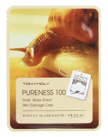 Тканевые маски Pureness 100 Mask Sheet, Tony Moly 6