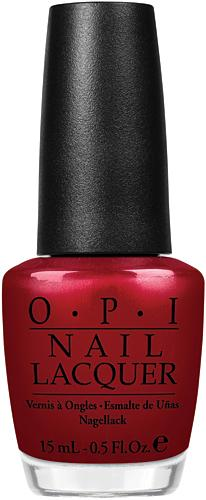 "Лак для ногтей OPI  ""Danke-Shiny Red"", 15 ml 1"