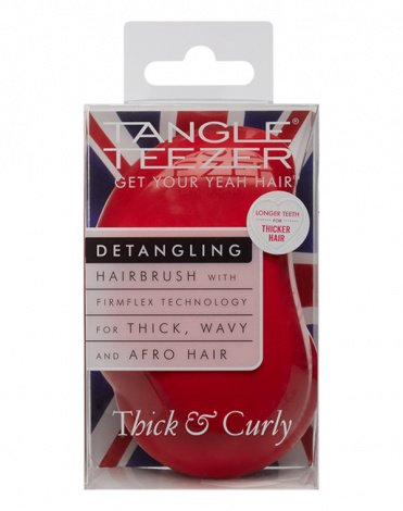 Расческа Tangle Teezer Thick & Curly Salsa Red 3